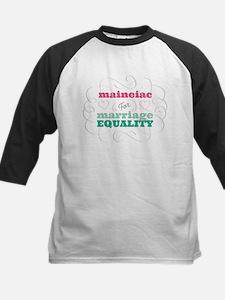 Maineiac for Equality Baseball Jersey
