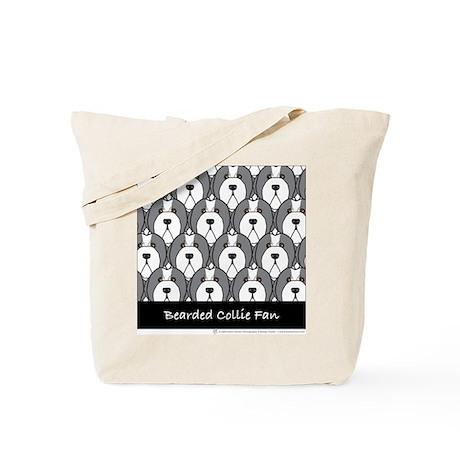 Bearded Collie Fan Tote Bag