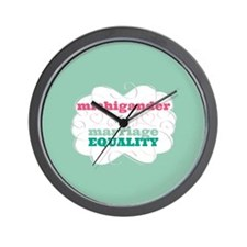 Michigander for Equality Wall Clock