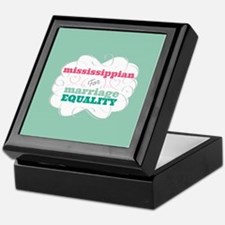Mississippian for Equality Keepsake Box
