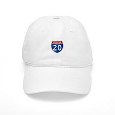 Interstate 20 - AL Baseball Cap