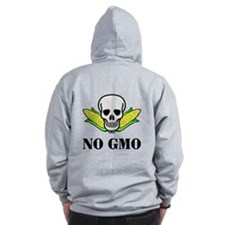 NO GMO Zip Hoodie (Back Only)