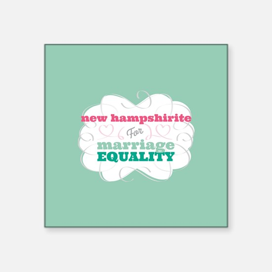 New Hampshirite for Equality Sticker