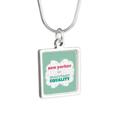 New Yorker for Equality Necklaces