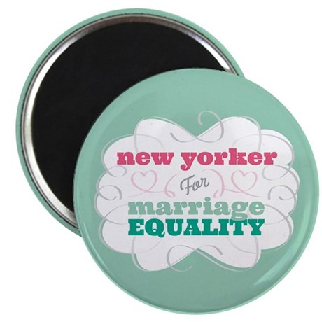 New Yorker for Equality Magnet