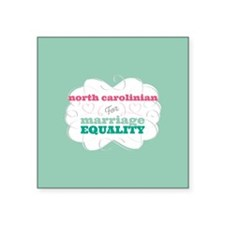 North Carolinian for Equality Sticker