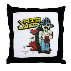 Vato Loco Throw Pillow