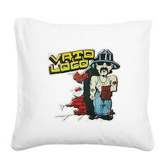 Vato Loco Square Canvas Pillow