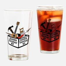Zombie Ukulele Kit Drinking Glass
