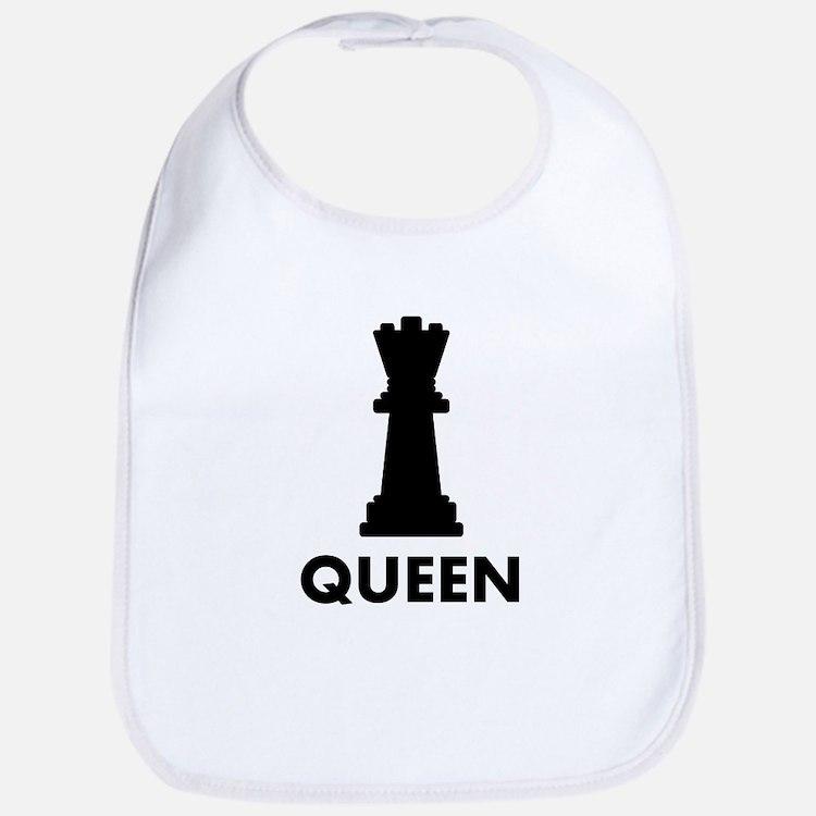Chess Queen Bib