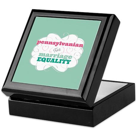 Pennsylvanian for Equality Keepsake Box