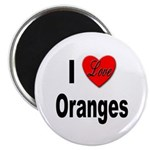 I Love Oranges Magnet