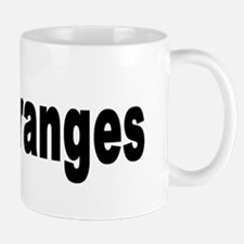 I Love Oranges Mug