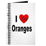 I Love Oranges Journal