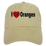 I Love Oranges Cap