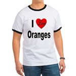 I Love Oranges Ringer T