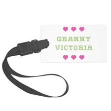 Granny Victoria Luggage Tag