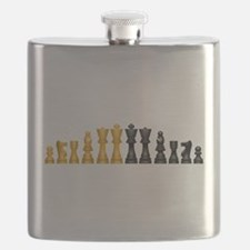 Chess Set Flask