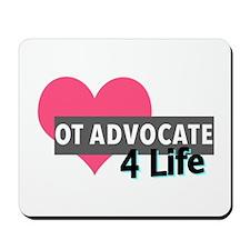 OT Advocate 4 Life Mousepad