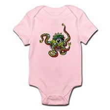 Alien Octopus Tattoo Infant Bodysuit