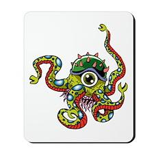 Alien Octopus Tattoo Mousepad