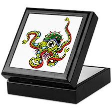 Alien Octopus Tattoo Keepsake Box