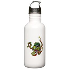 Alien Octopus Tattoo Water Bottle