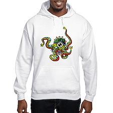 Alien Octopus Tattoo Hoodie