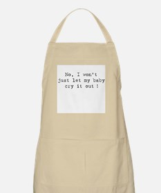 No Cry It Out BBQ Apron