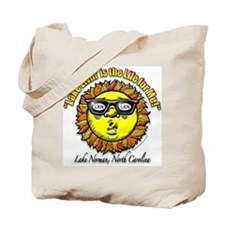 """Lake Norman Living"" Tote (2-sided)"