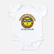 """Lake Norman Living"" Infant Bodysuit"