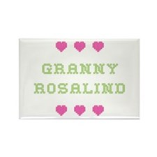 Granny Rosalind Rectangle Magnet