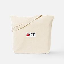 Heart OT Tote Bag