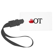 Heart OT Luggage Tag