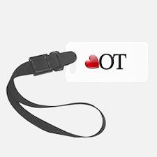 Heart OT Luggage Tag