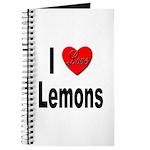 I Love Lemons Journal