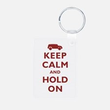 FJCruiser Keep Calm and Hold On Keychains