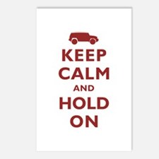 FJCruiser Keep Calm and Hold On Postcards (Package