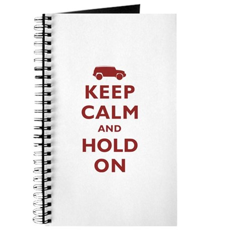 FJCruiser Keep Calm and Hold On Journal