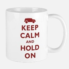 FJCruiser Keep Calm and Hold On Small Mugs