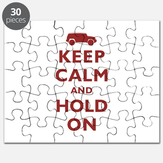 FJCruiser Keep Calm and Hold On Puzzle