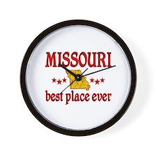 Missouri Best Wall Clock
