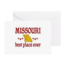 Missouri Best Greeting Card