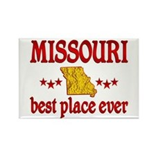 Missouri Best Rectangle Magnet