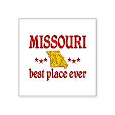 "Missouri Best Square Sticker 3"" x 3"""