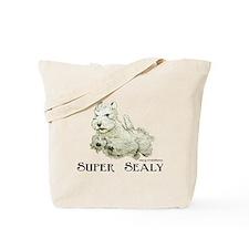 Super Sealyham Terrier Tote Bag
