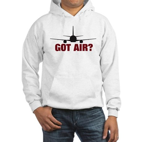 GOt Air? Large Jet Hooded Sweatshirt