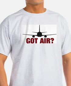 GOt Air? Large Jet Ash Grey T-Shirt