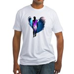 Archaic Angel Fitted T-Shirt