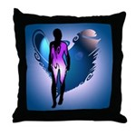 Archaic Angel Throw Pillow
